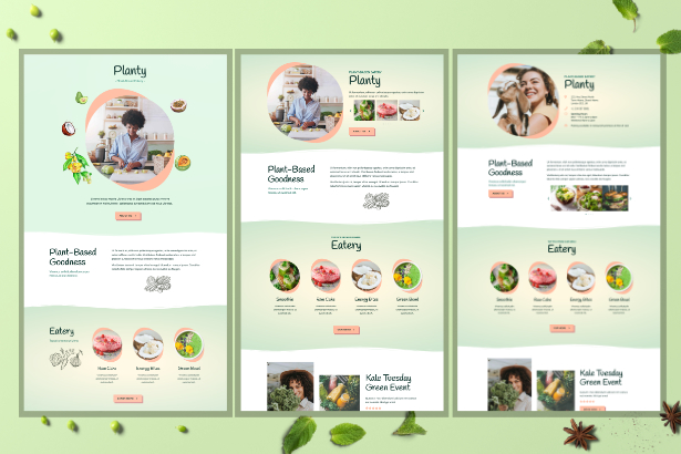 planty-home Planty - Cafe & Restaurant Template Kit theme WordPress