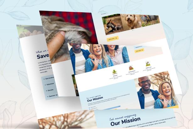 sanctuary-features Animal Sanctuary - Non-Profit Template Kit theme WordPress