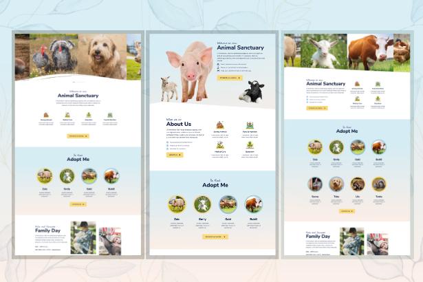 sanctuary-home Animal Sanctuary - Non-Profit Template Kit theme WordPress