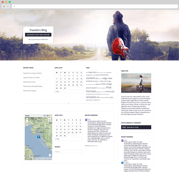 Passenger - Travelers WordPress Theme