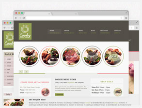 Restaurant Website Template Live Preview