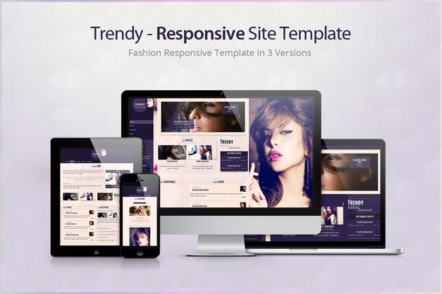 Trendy Is Fashion Oriented Responsive Portfolio Template