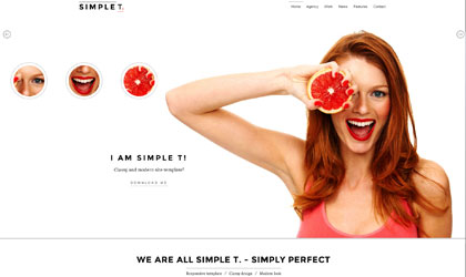 Simple Site Template