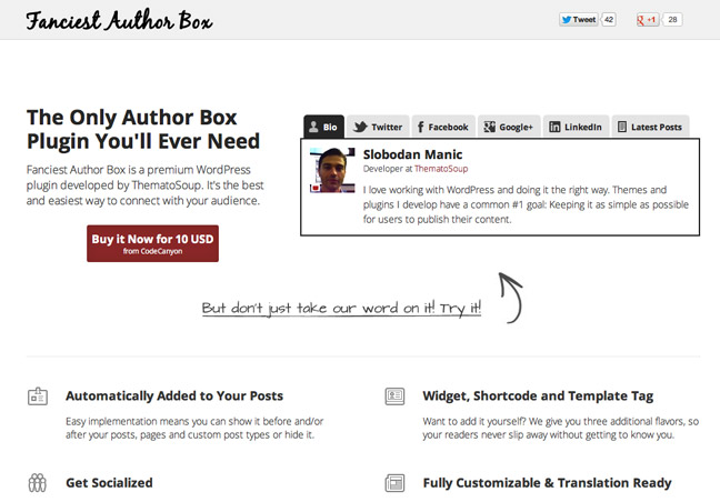 Author Box WordPress