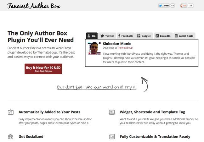 Author Box WordPress