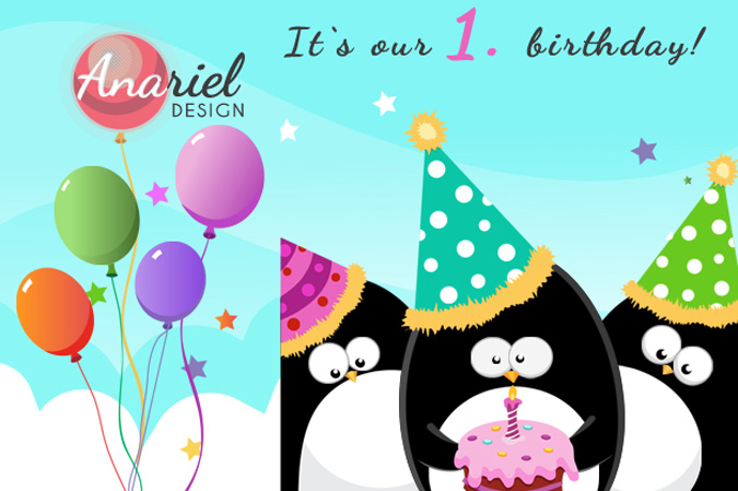 It's Our Birthday! Let's Celebrate