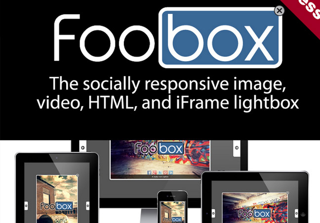 Foobox lightbox