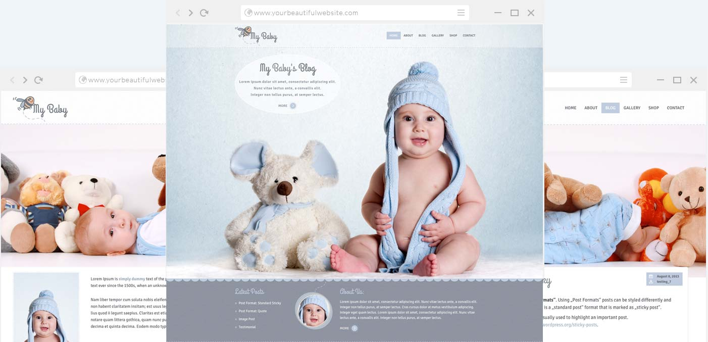 Children WordPress Theme