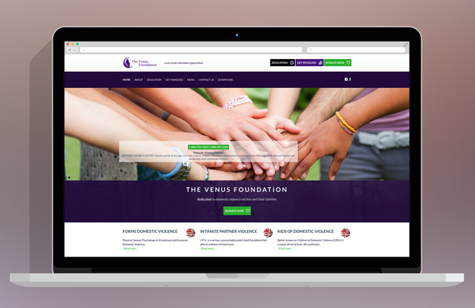 """The Venus Foundation"" and the 4 Children WordPress Theme"
