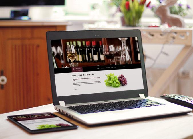 """Good Ol' Wine"" Powerful WordPress Theme With Profound Features"