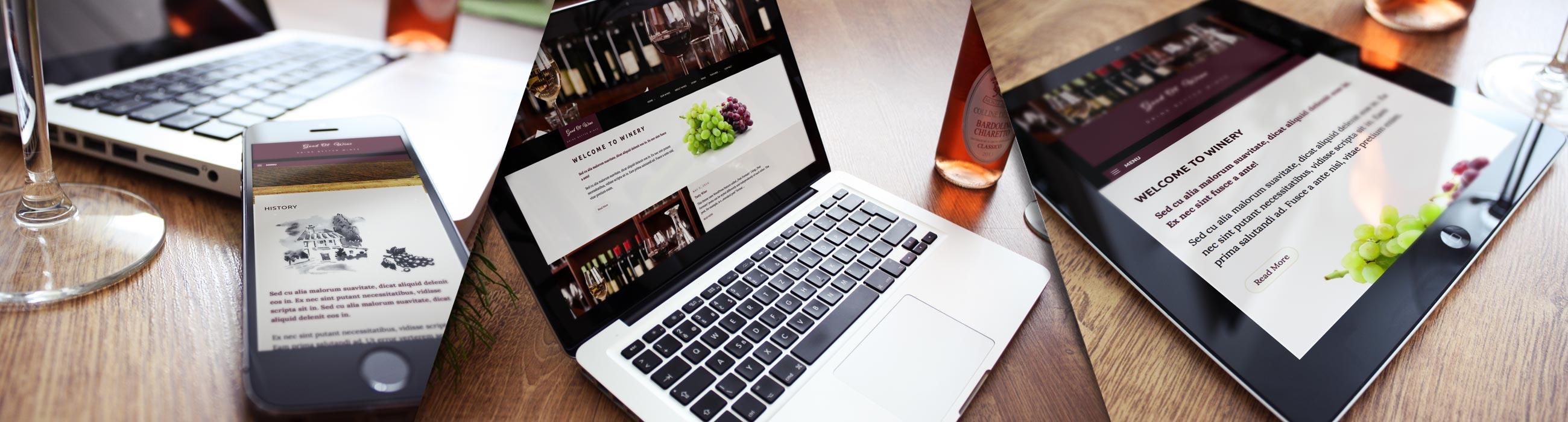 Wines WP Theme