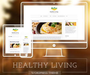 Vegetarian WordPress theme