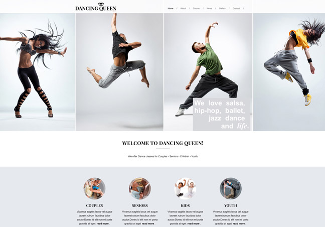 Music and Dance School HTML Template