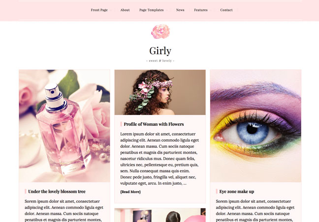 Blog and Magazine WordPress Theme