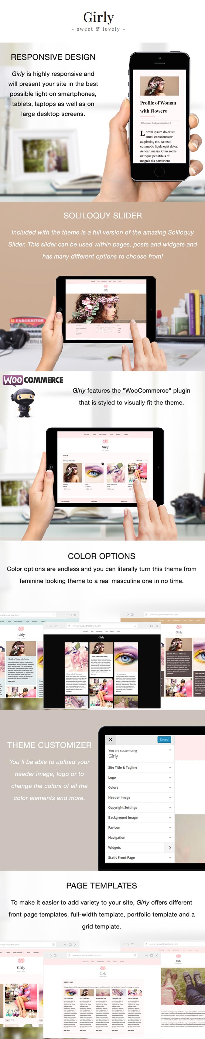 Magazine and Fashion WordPress Theme