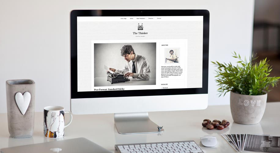 The Thinker Lite – Free WordPress Theme