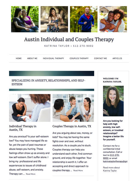 Austin Individual and Couples Therapy