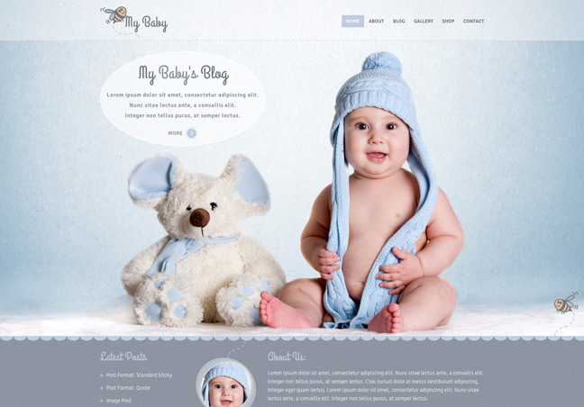 Children WP Theme