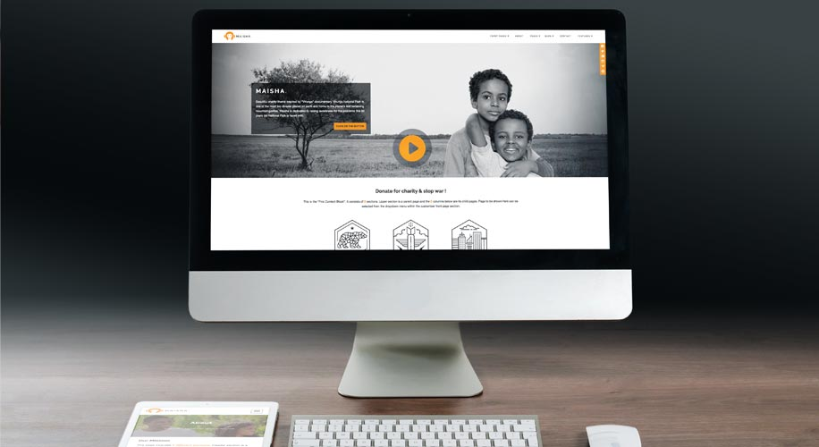Maisha Charity WordPress Theme Video Presentation