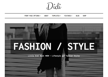 Fashion Blogging WordPress Theme