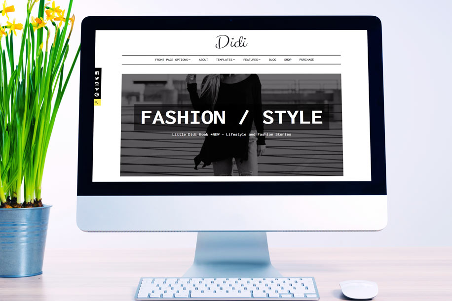"""Didi"" – Stylish and Modern WordPress Theme"