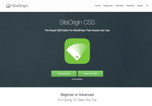 SiteOrigin CSS Editor