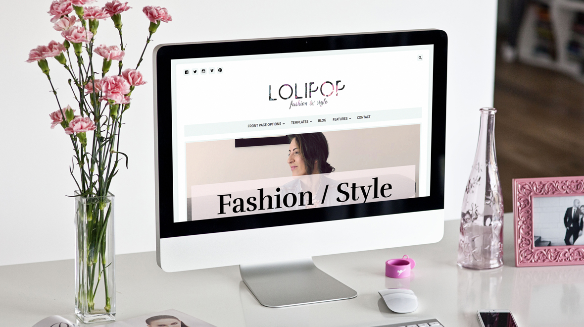 "Refresh Your Blog With ""Lolipop"" WordPress Theme"