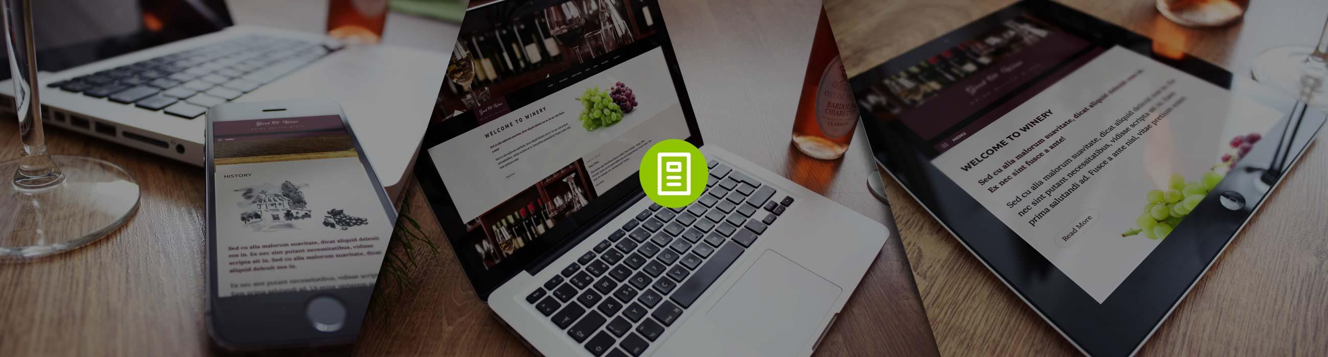 Wine WordPress Theme