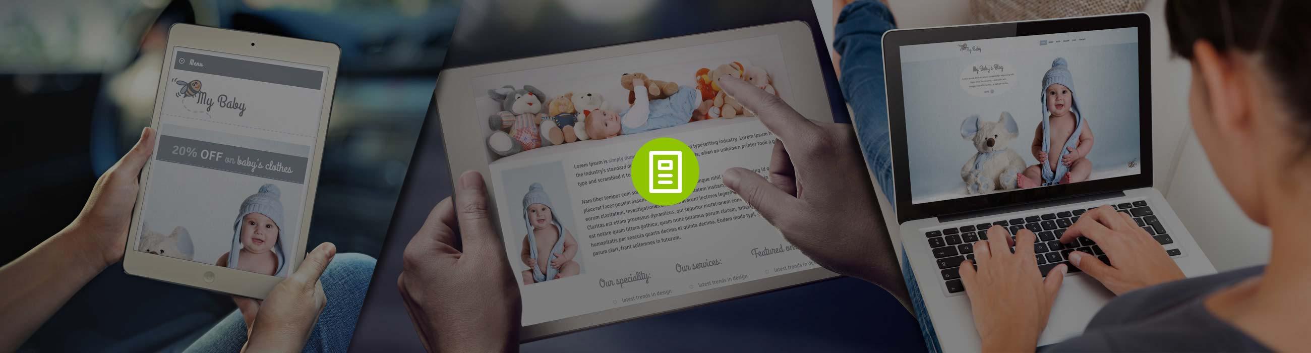 Baby WordPress Theme