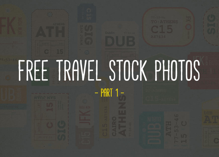 Free Travel Stock Photos – Part 1