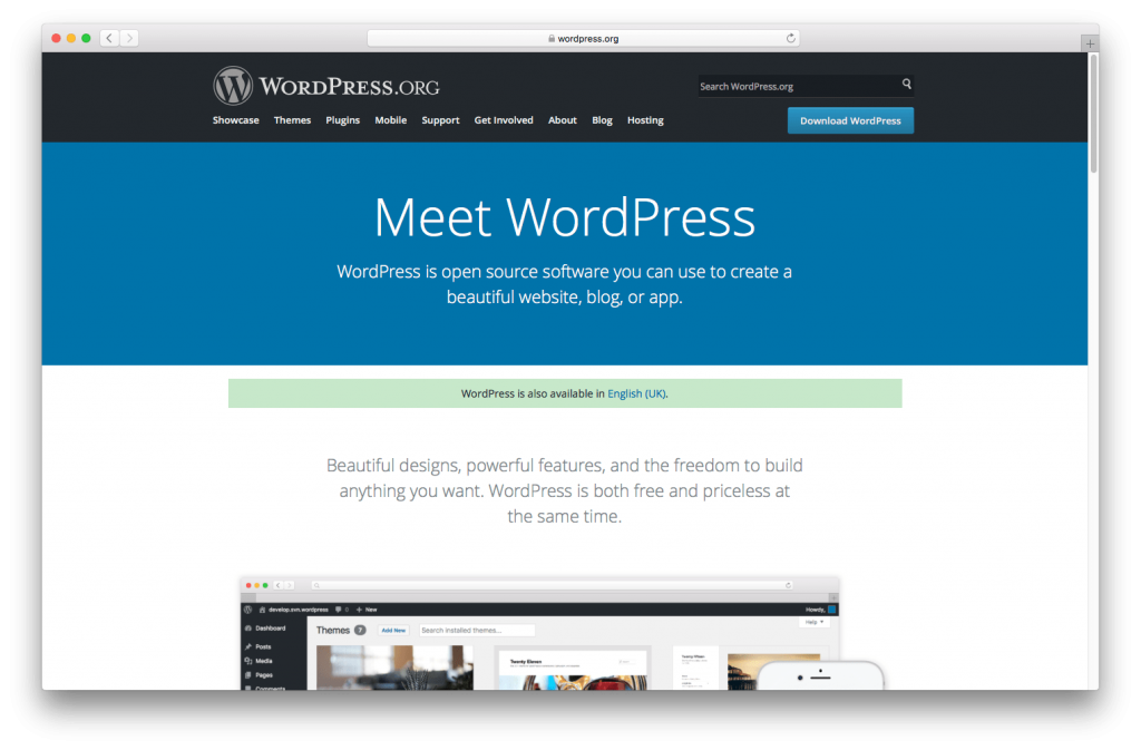WordPress is world-leading software for creating charity websites.