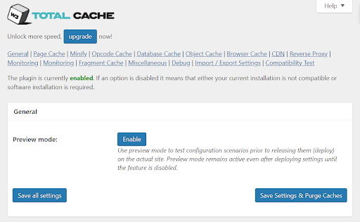 total_cache_plugin_dashboard