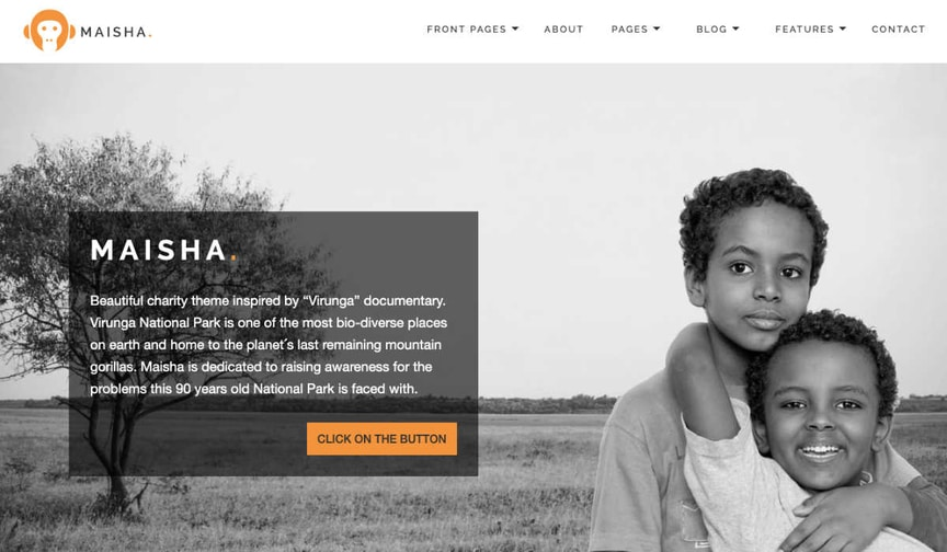 maisha wordpress theme