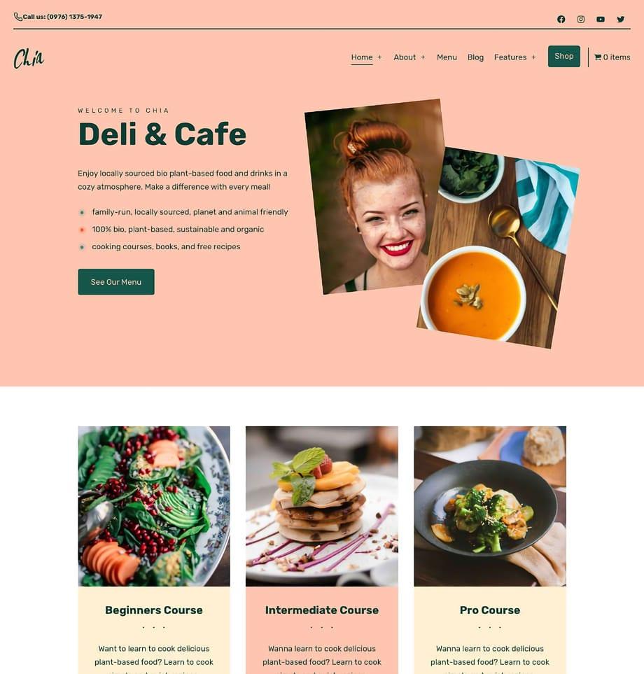 Deli WordPress Theme