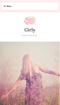 Girly WordPress Theme