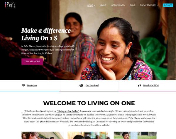 Charity WordPress Theme