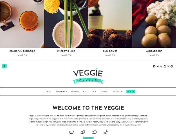 Food Blogging Theme